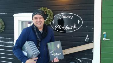"""Björn Ylipää levererade sin bok """"Smak av Norrsken"""""""