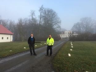 På besök i Österlen hos senapsproducenten,Hans Svennson och Petersborsgård